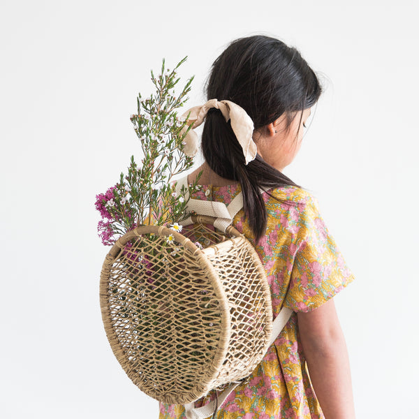 Jonote Basket Backpack