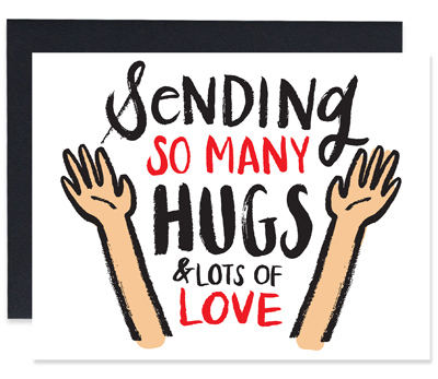 So Many Hugs Greeting Card