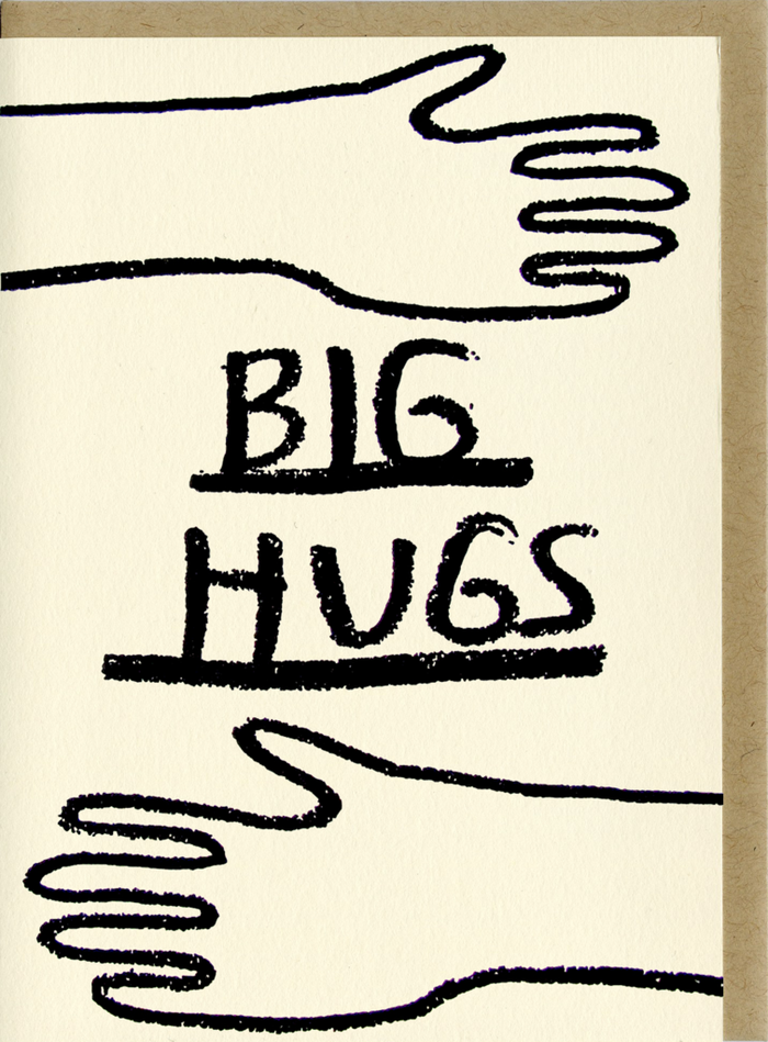 Big Hugs Greeting Card
