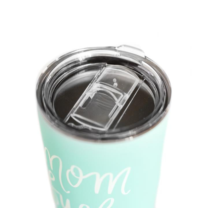 Mom Fuel travel mug