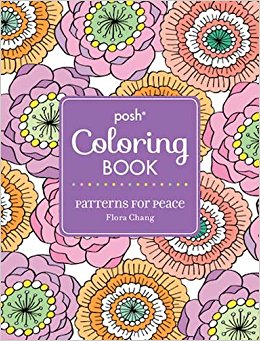 Patterns For Peace Adult Coloring Book