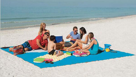 magic beach mat anti sand