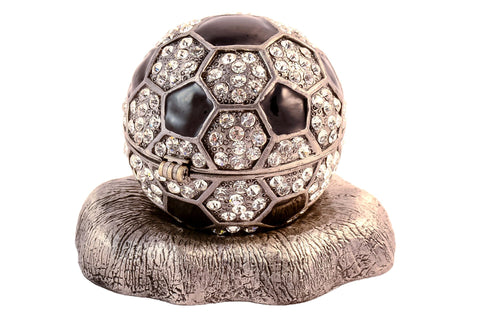 Soccer Ball Trinket Box