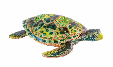 Sea Turtle Trinket Box