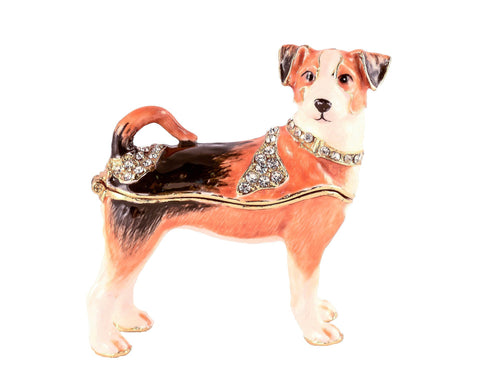 Jack Russell Terrier Trinket Box