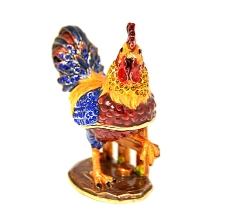 Rooster Trinket Box