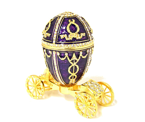 Egg Carriage Trinket Box