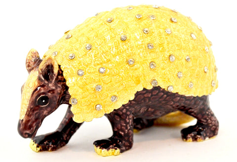 Armadillo Trinket Box
