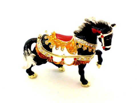 Running Horse Trinket Box