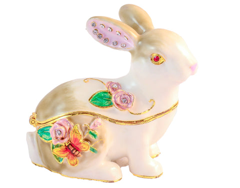 Rabbit Decorative Trinket Box
