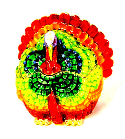 Turkey Trinket Box