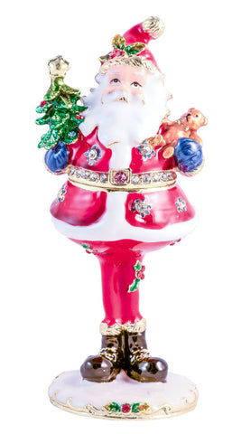 Santa Claus Trinket Box