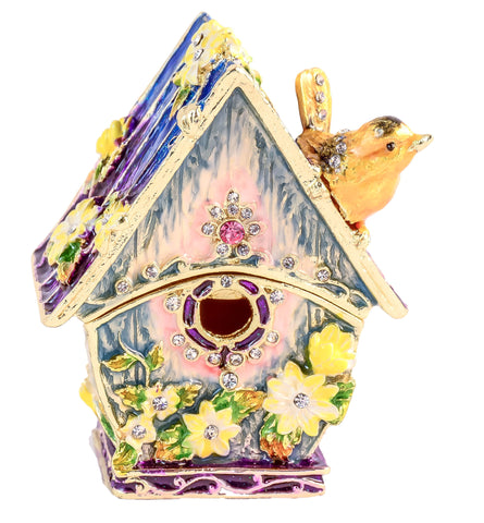 Bird House Trinket Box