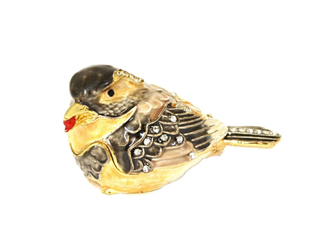 Sparrow Trinket Box