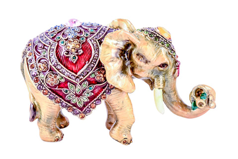 Elephant Decorative Trinket Box