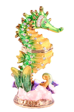 Sea Horse Small Trinket Box