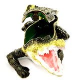 Alligator Trinket Box