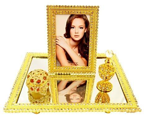 Anastasia Mirror Tray Set