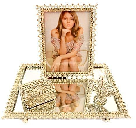 Maria Mirror Tray Set