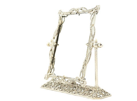 Swivel Mirror on Stand