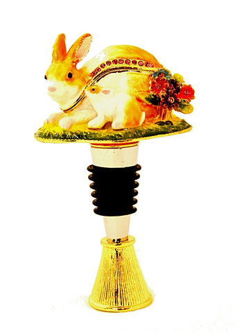 Bunny Box Wine Bottle Stopper