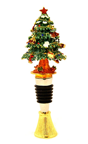 Christmas Tree Box Wine Bottle Stopper