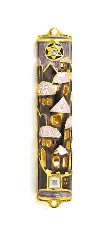 Star of David Mezuzah Case