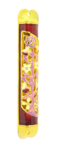 Tree of Life Mezuzah Case