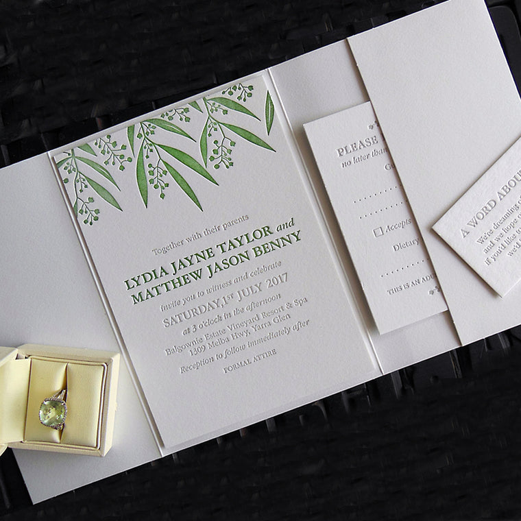 Australian collection | Invitations by Daisy Street Press