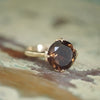 Garland Ring with Smoky Quartz