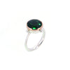Portal Ring with Green Quartz