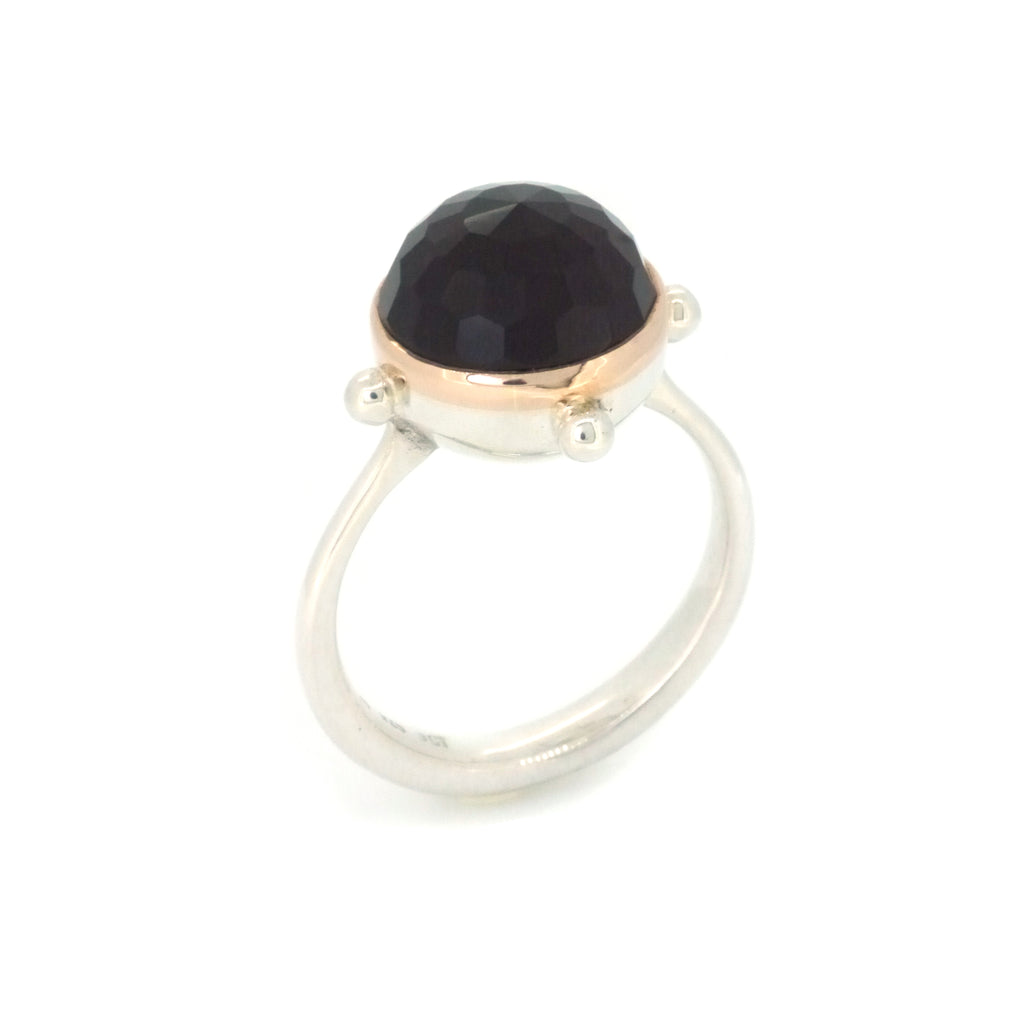 Portal Ring with Onyx