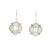 Quatrefoil Earrings with shot