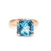 Renaissance Ring with Blue Topaz