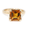 Renaissance Ring with Citrine