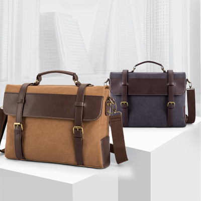 Indomitable Canvas Briefcase