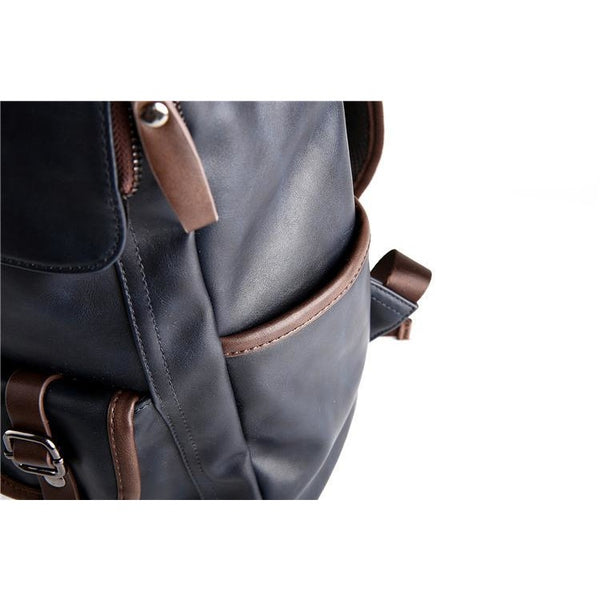 Velocious Leather Backpack
