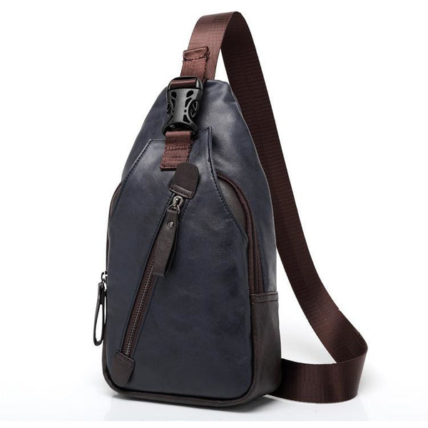 Gusty Leather Sling Bag