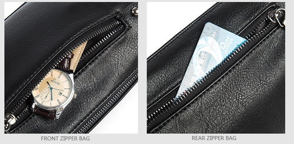 Zappy Black Clutch