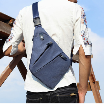 Abundant Messenger Chest Bag