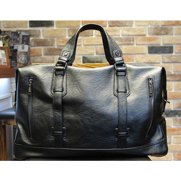 Imposing Double side Zipper Briefcase