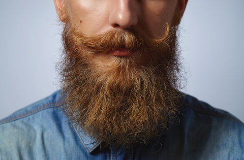 How to make the beard hair thick