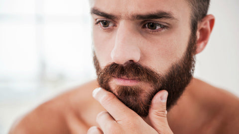 beard hair makes the skin itchy