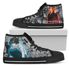 Express Delivery - Death Note Manga Custom Shoes