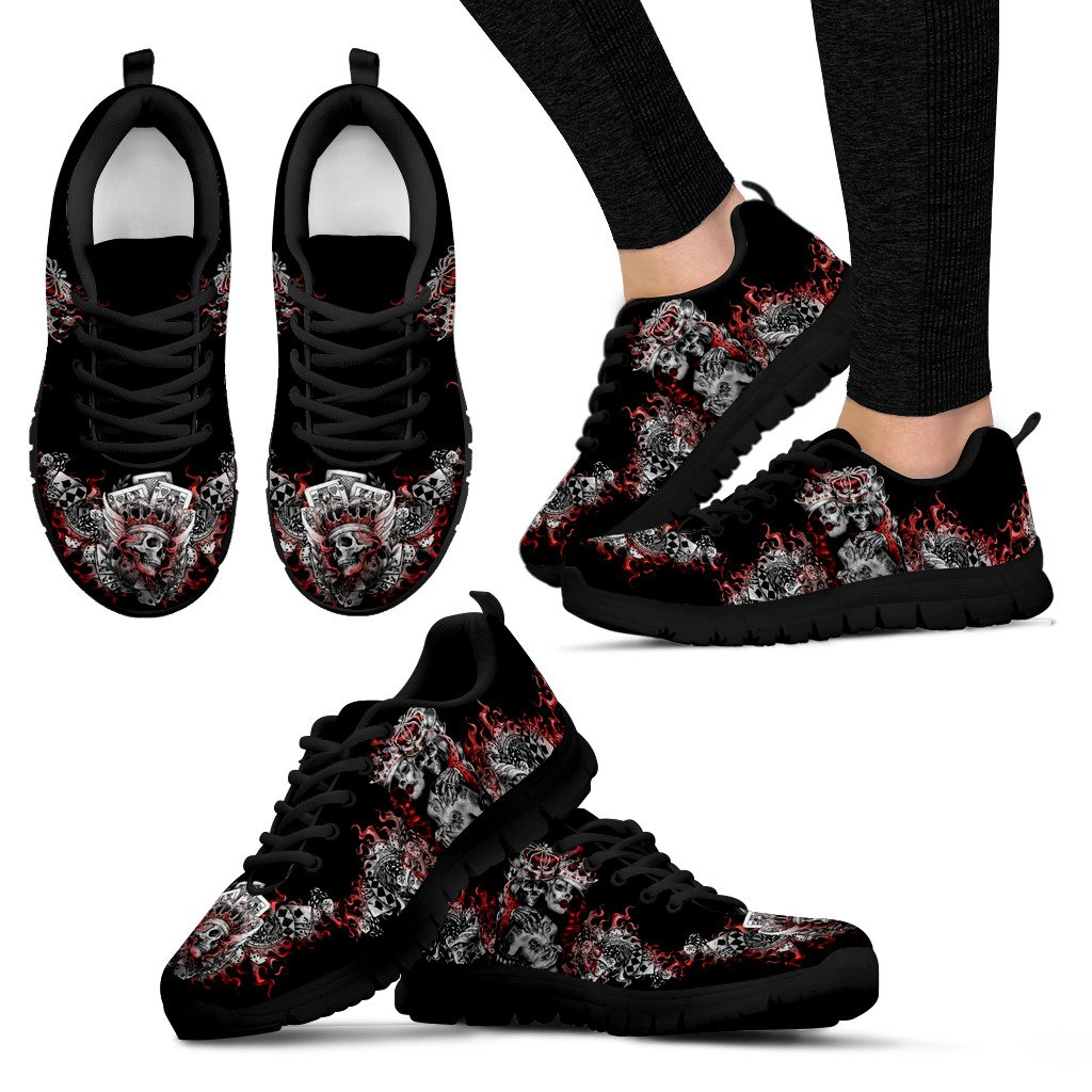 Express Delivery - Queen Of Heart Sneakers