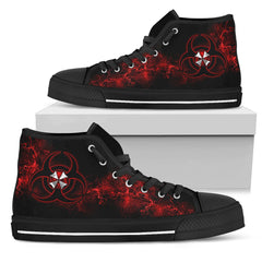 Express Delivery - Resident Evil Symbol Custom Shoes