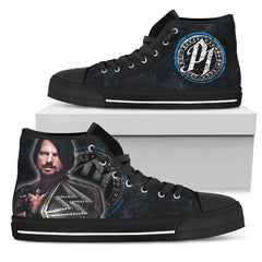 Express Delivery - WWE - AJ Style Custom Shoes