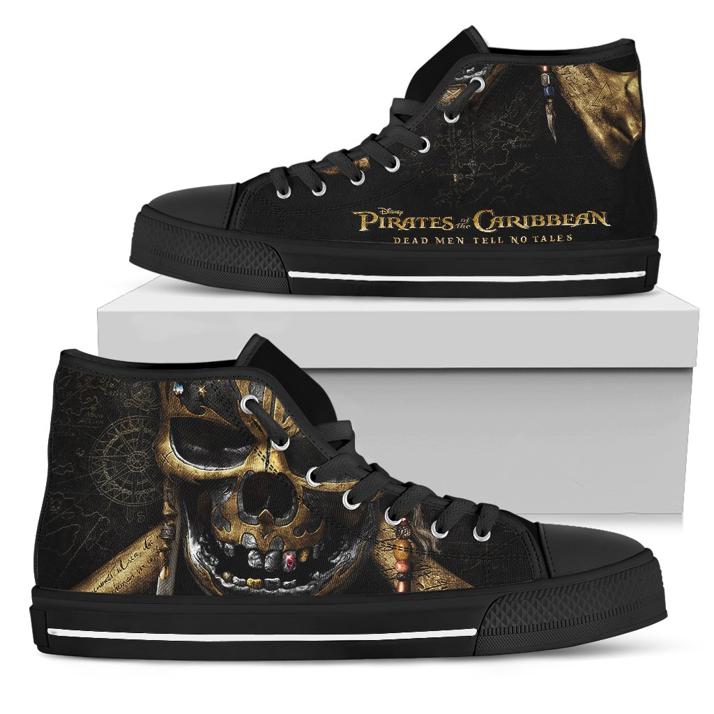 Express Delivery - Dead Men Tell No Tales Custom Shoes