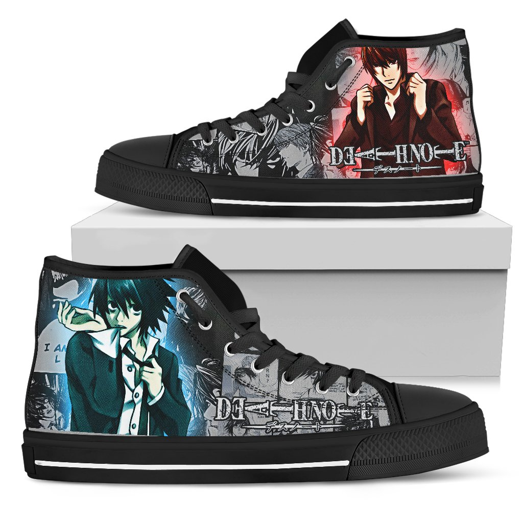Express Delivery - Death Note Manga School Custom Shoes