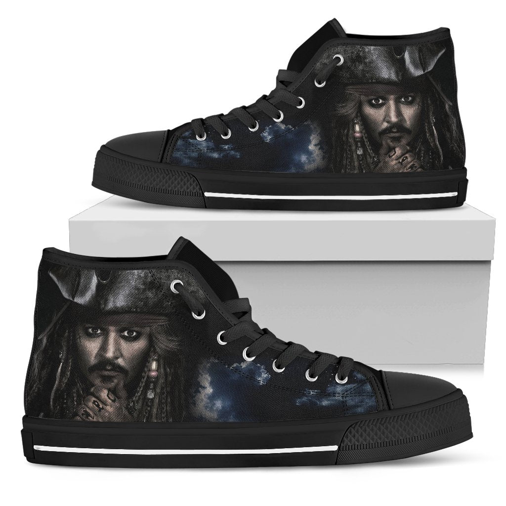 Express Delivery - Jack Sparrow Shadow Custom Shoes